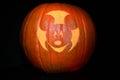 My Mickey Jack-o-lantern Royalty Free Stock Photo