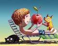 My red apple