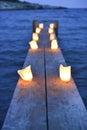 My romantic moment, when night falls.
