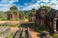 My Son Sanctuary, Vietnam Royalty Free Stock Photo