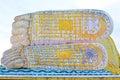 Mya Tha Lyaung Reclining Buddha Footprint, Bago, Myanmar