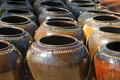 Myanmar, Bagan: Pottery of Myanmar Stock Photography