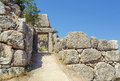 Mycenae greece is an archaeological site in in the second millennium bc was one of the major centres of greek civilization Stock Photo