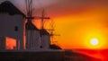 Mykonos Bay Royalty Free Stock Photo