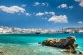 MYKONOS, GREECE- JULY 4, 2017: