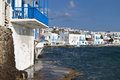 Mykonos island in greece the small venice of Royalty Free Stock Images