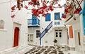 Mykonos island in Greece Royalty Free Stock Photo