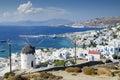Mykonos town Royalty Free Stock Photo