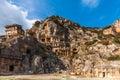 Myra ancient city turkiet Arkivbild