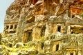 The myra rock graves myara in demre city from turkey Stock Photo