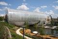 Myriad Botanical garden in city Oklahoma Royalty Free Stock Photo
