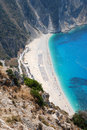 Myrtos Bay Royalty Free Stock Photography