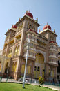 The Mysore Palace in India Stock Photography
