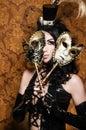Mysterious Masquerade Stock Photos