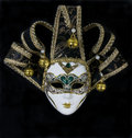 Mysterious venetian mask Royalty Free Stock Photos