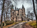 Mystic castle located in vaxjo sweden Royalty Free Stock Images