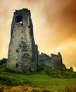 Mystic Castle Ruins Royalty Free Stock Photo