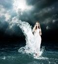 Diosa en mar