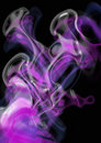 Mystic pink smoke Royalty Free Stock Photo