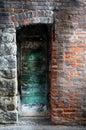 Mystical Door Royalty Free Stock Photo
