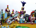 Mystique Parade Float Royalty Free Stock Photo