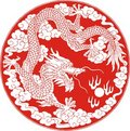 Myth dragon Royalty Free Stock Photography