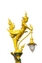 Mythical female bird with a human head in temple thailand Royalty Free Stock Photography