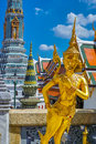 Mythological Creature in Grand Palace at Bangkok