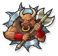Myths: Minotaur Royalty Free Stock Photos