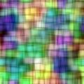 τετράγωνα προτύπων θαμπάδω&n Στοκ Φωτογραφία