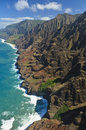 Na Pali Coast Royalty Free Stock Photos