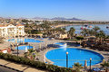 Naama Bay in Sharm El Sheikh Royalty Free Stock Image