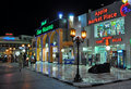 Naama bay shopping night Stock Photography