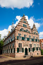Naarden city hall medieval in the netherlands Stock Photography