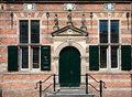 Naarden city hall medieval in the netherlands Stock Photo