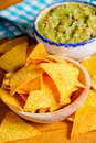 Nacho chips Royalty Free Stock Photo