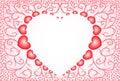 Nacreous hearts 4 Royalty Free Stock Photo