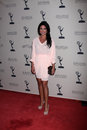 Nadia Bjorlin arrives at the ATAS Daytime Emmy Awards Nominees Reception Stock Image