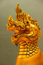 Naga is a mythical beast of asia Stock Images