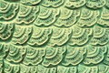 Naga skin made from ceramic tiles Royalty Free Stock Image