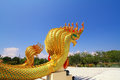 Naga statue Stock Images