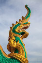 Naga statue on koh samui thailand Stock Photos