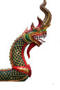 Naga thailand holy sculpture Royalty Free Stock Photos