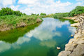 Nahal alexander nature reserve view of stream israel Stock Photo
