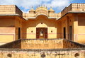 Nahargarh fort in jaipur is a eighteenth century the city of india Royalty Free Stock Photography