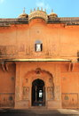 Nahargarh fort in jaipur is a eighteenth century the city of india Stock Images