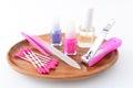 Nail care tools tool beauty body Stock Image