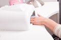 Nail dryer Stock Images