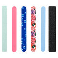Nail file, of different colors Royalty Free Stock Photo