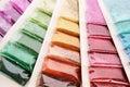 Nail glitters Stock Image